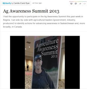 ag awareness summit